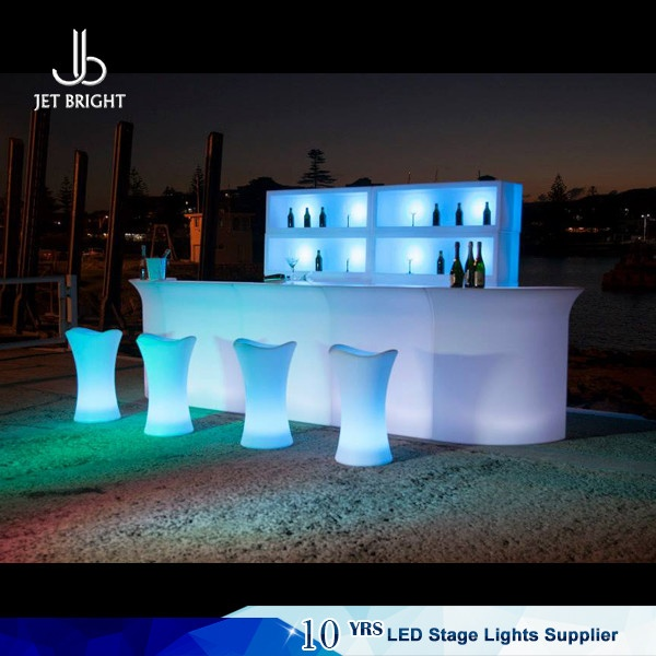 Illuminated Led Bar Counter