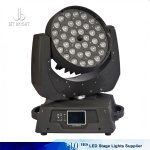 36*18/15/10w LED moving head wash with zoom