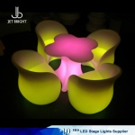LED plum flower table set